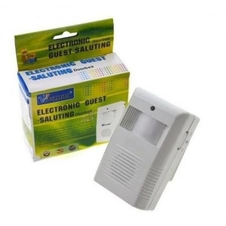 Безжичен звънец за Добре дошли със PIR Звукова аларма