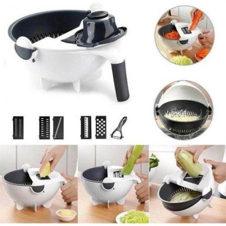 Ренде с гевгир и купа за рязене и миене на зеленчуци 7 в 1