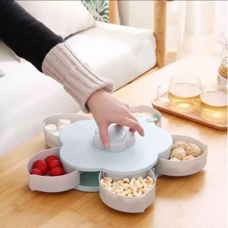 Моделираща и въртяща се кутия за ядки и бонбони