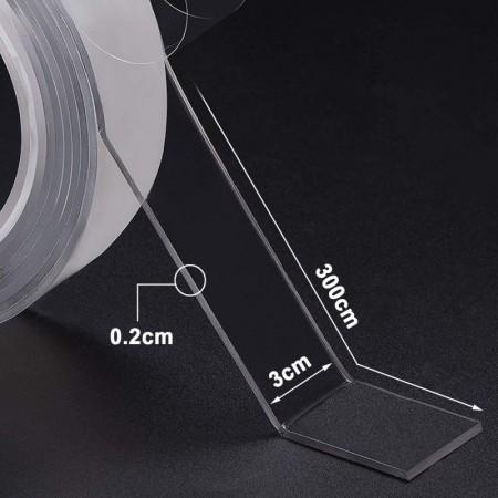 Лента за закрепване Ivy Grip Tape, двойно залепяща, 3 метра