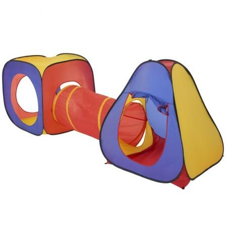 Детска палатка за игра с тунелче