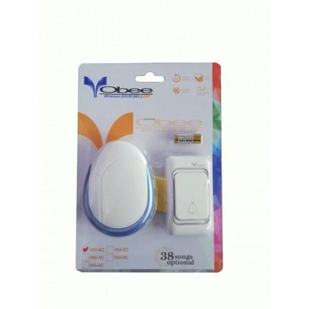 Безжичен звънец за контакт OBEE V01-AC
